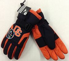 NCAA Oregon Ducks Adidas Men's Winter Ski Gloves w/ Gripper Palm & Thumb NEW