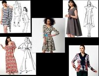 McCalls New Fashion Star Sewing Pattern Misses Sizes Your Choice ~ Free Shipping