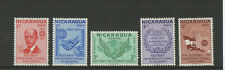 1970 Nicaragua Rotary International 50th Anniversary Low Value Stamp Set
