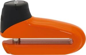 Abus 300 Race Orange Motorcycle Bike Disc Lock With Transparent Bag 10mm