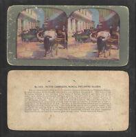 Manila Philippines of 600//1200 Card Set #1003 Keystone Stereoview Cars /& Carts