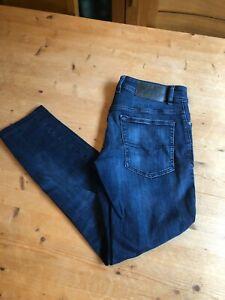 Diesel Troxer Blue Denim Men's Slim Skinny Jeans 32 Waist 30 Leg