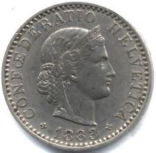 1883 Switzerland 20 Rappen***Collectors***