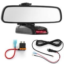 Mirror Mount + Direct Wire Power Cord + ATO Fuse Tap for Beltronics STI RX65