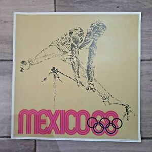 Mexico 1968 Olympic Games Poster #2
