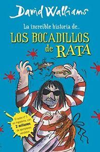 Los bocadillos de rata by Walliams, David Book The Fast Free Shipping