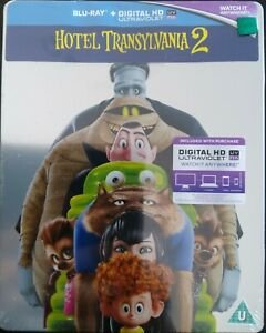 Hotel Transylvania 2 (Blu-Ray Steelbook) New and Sealed