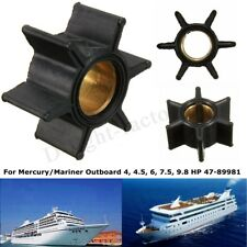 Water Pump Impeller For Mercury/Mariner Outboard 4/4.5/6/7.5/9.8 HP 47-89981 NEW