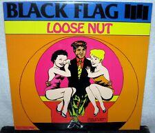 BLACK FLAG Loose Nut LP PUNK ROCK Hardcore METAL Henry Rolling SEALED Black Wax