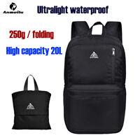 Anmeilu 20L Ultralight Foldable Nylon Backpack Outdoor Sport Waterproof Bags