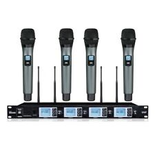 Professional Karaoke Microphone wireless Stage Performance Vocal uhf microphone