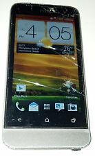 HTC One V Grey (Alltel) Smartphone Cracked Glass Volume Button Tight