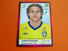 450 ELMANDER GALATASARAY SVERIGE FOOTBALL PANINI UEFA EURO 2012