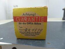 1x Loewe Opta cy2 sealed box NEW TUBE TUBE Valvola ultra rare