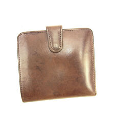 Coach Wallet Purse Coin purse Brown Woman unisex Authentic Used Y5767