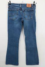Levi's Women's Jeans Size Jr 5  Superlow 518 Boot Cut Medium Wash Stretch Denim