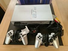 Sony PlayStation 2 Satin Silver Console (SCPH-50004SS)