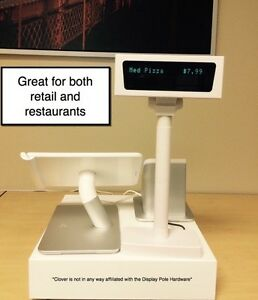 Customer Display Pole for Clover POS