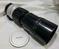 Nikkor P Auto 1:4.5 f=300mm Nippon Kogaku Lens (1)