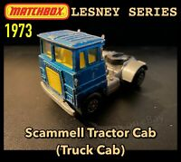 Matchbox Lesney: Scammell Tractor Cab (Truck Cab) 1973 - Made In England