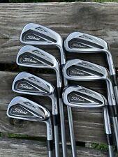 "Titleist AP2 716 Iron Set +1/2"" 4-PW Kuro Kage 65g A Flex Shafts Golf Pride MCC"