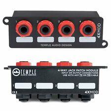 Temple Audio 4X MOD 4-Way Jack Panel Module MOD4X