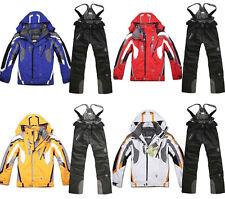 Men's Winter Ski Suit Pants Jacket Waterproof Coat Snowboard Snowsuits Outdoor