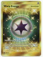 WARP ENERGY- Secret Rare Holo - Pokemon Card Crimson Invasion MINT 123/111