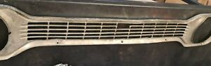 FORD ESCORT Mk1 FRONT GRILL for round LIGHTS. Slightly Damaged so Low Price.