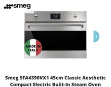 Brand New SMEG Steam Oven SFA4395VCX1 -12 months warranty.
