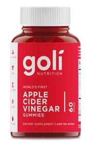 Goli Apple Cider Vinegar Gummies 60 Gummies