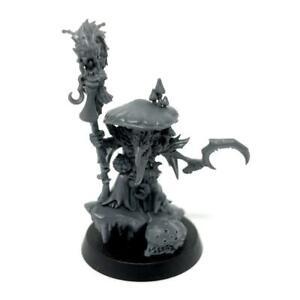 Fungoid Cave-Shaman Snazzgar Stinkmullett Gloomspite Gitz Sigmar Warhammer