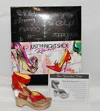 Just The Right Shoe by Raine Shoe Miniatures- San Francisco Treat Nib