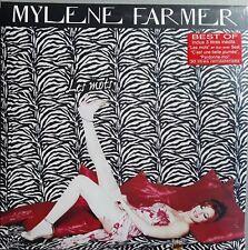 MYLENE FARMER;BEST OF.LES MOTS.3 DISQUES VINYLES. NEUF. JAMAIS OUVERT NI ECOUTE