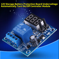12V Battery Low Voltage LED Undervoltage Anti-Over Discharge Protection Module