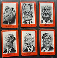Telefonkarten Set Spiegel Bundespräsidenten O-Karte mint/** 6 Stück 100A-F 92