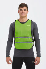 High Visibility Vis Reflective Running Cycling/WalkingSafety Bib Vest Top Yellow