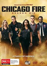 Chicago Fire Season 6 Box Set DVD Region 4 NEW