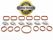 6x 22 mm BMW BOUCHON CLAPET SWIRL FLAP BLANKING KIT WITH MANIFOLD GASKET