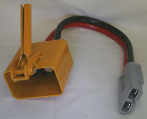Tail Lift Extension Lead - 0.5m long Anderson 175amp to Female Cowbell