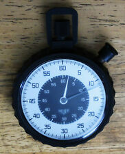 HEUER MILITARY MODEL 508.901 STOPWATCH 60 Second, 60 Minute, 7 Jewel Swiss Timer