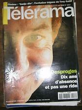 Télérama N° 2517 1998 Pierre Desproges Tony Gatlif Gadjo Dilo NTM Ethiopie TV