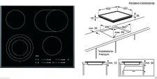 Électrique Plaque Cuisson AEG HK654070FB, 60 cm, Slidertouch