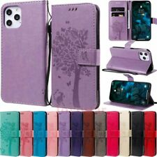 for iPhone 12 Pro Max 11 XR SE 6s 7 8 Wallet Card Holder Flip Leather Case Cover