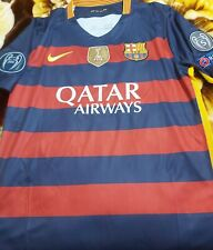 Puyol Signed Barcelona 2015/2016 + Coa