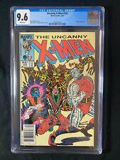 Uncanny X-Men #192 CGC 9.6 (1985) - RARE Newsstand Edition - Magnus appearance
