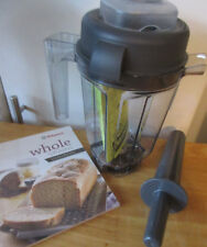 Vitamix 32-ounce Dry Grains Container With Whole Grains Cookbook PLUS Tamper NEW