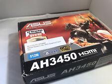 ASUS Radeon 3450 (512 MB) (AH3450DI512MD2LP) Low Profile Graphics Card - AGP