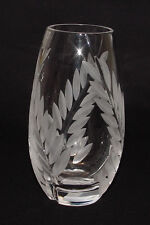 IMMACULATE WITH LABEL Mikasa (Yugoslavia) Cut Glass BUD VASE!!