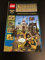 LEGO Knights Kingdom Medieval Mischief Mayhem Comic Book Free Shipping